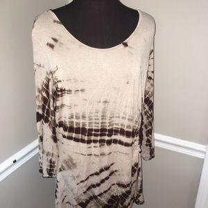 Avenue women's plus size tye dye shirt 18/20